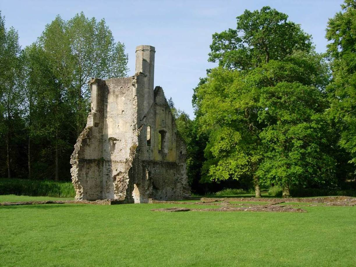 English Heritage Minster Lovell Hall and Dovecote Acanthus Clews Architects