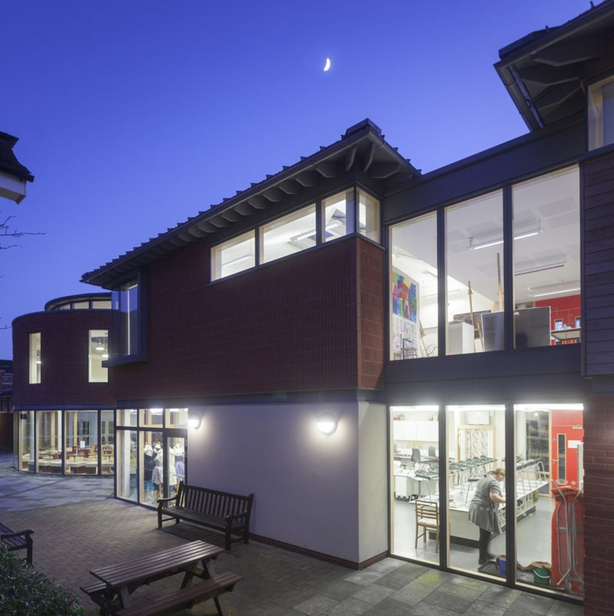 School architects Acanthus Clews St Albans High School for Girls