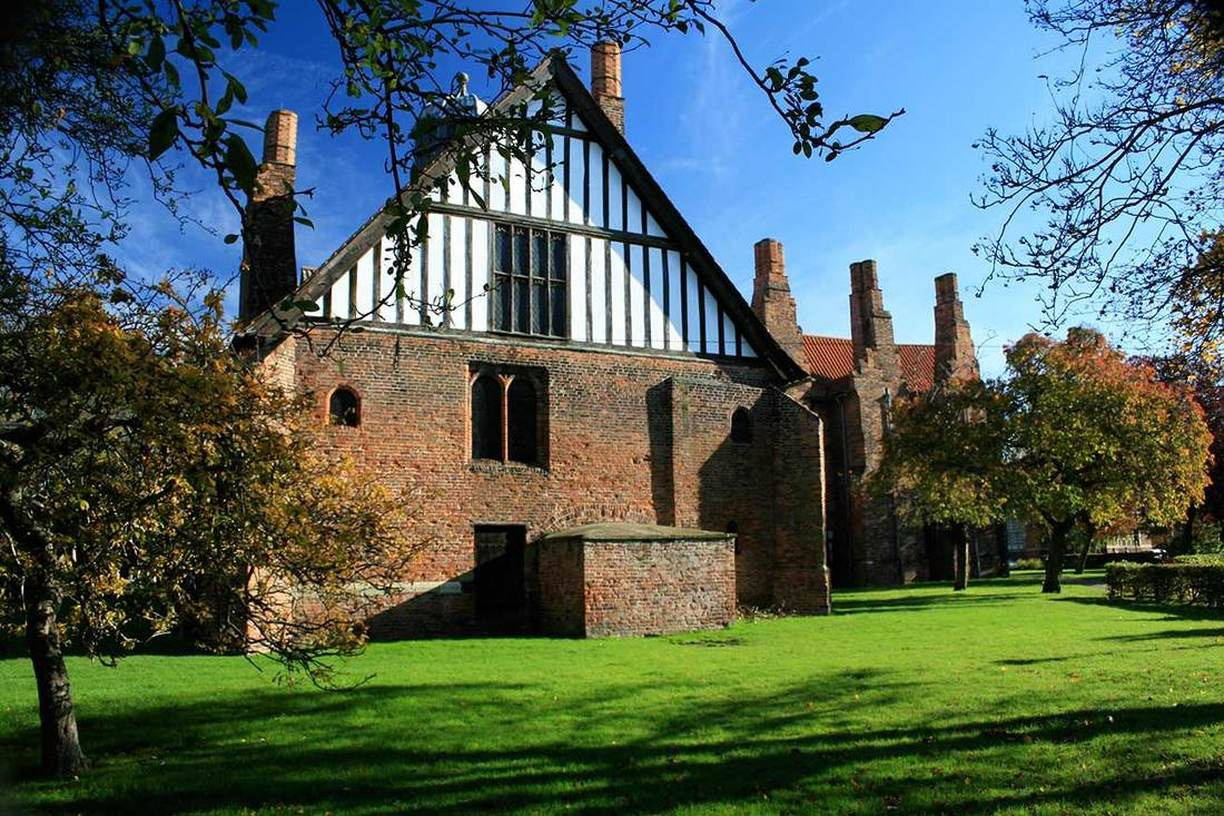 English Heritage Gainsborough Old Hall Acanthus Clews Architects