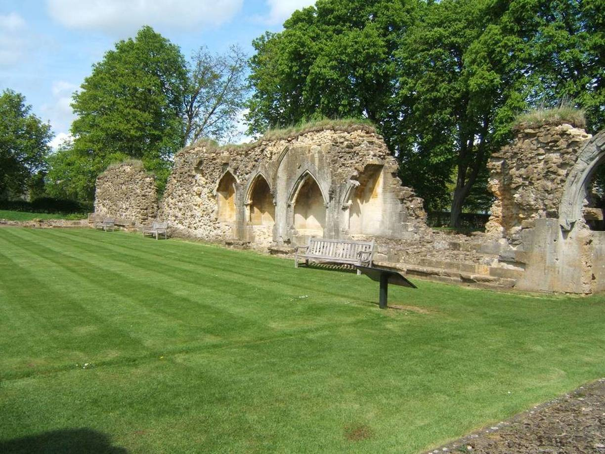 English Heritage Hailes Abbey Acanthus Clews Architects