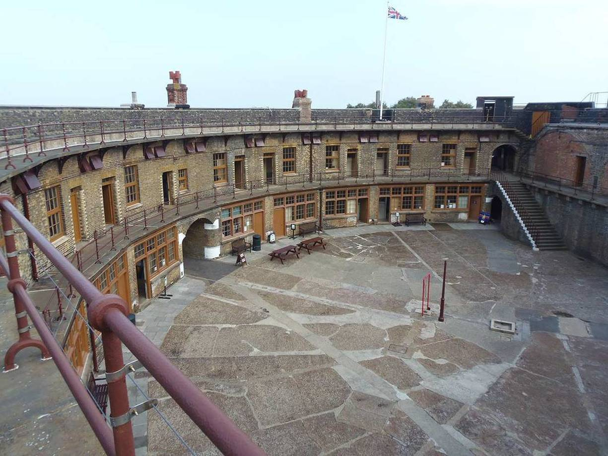 English Heritage Landguard Fort Acanthus Clews Architects