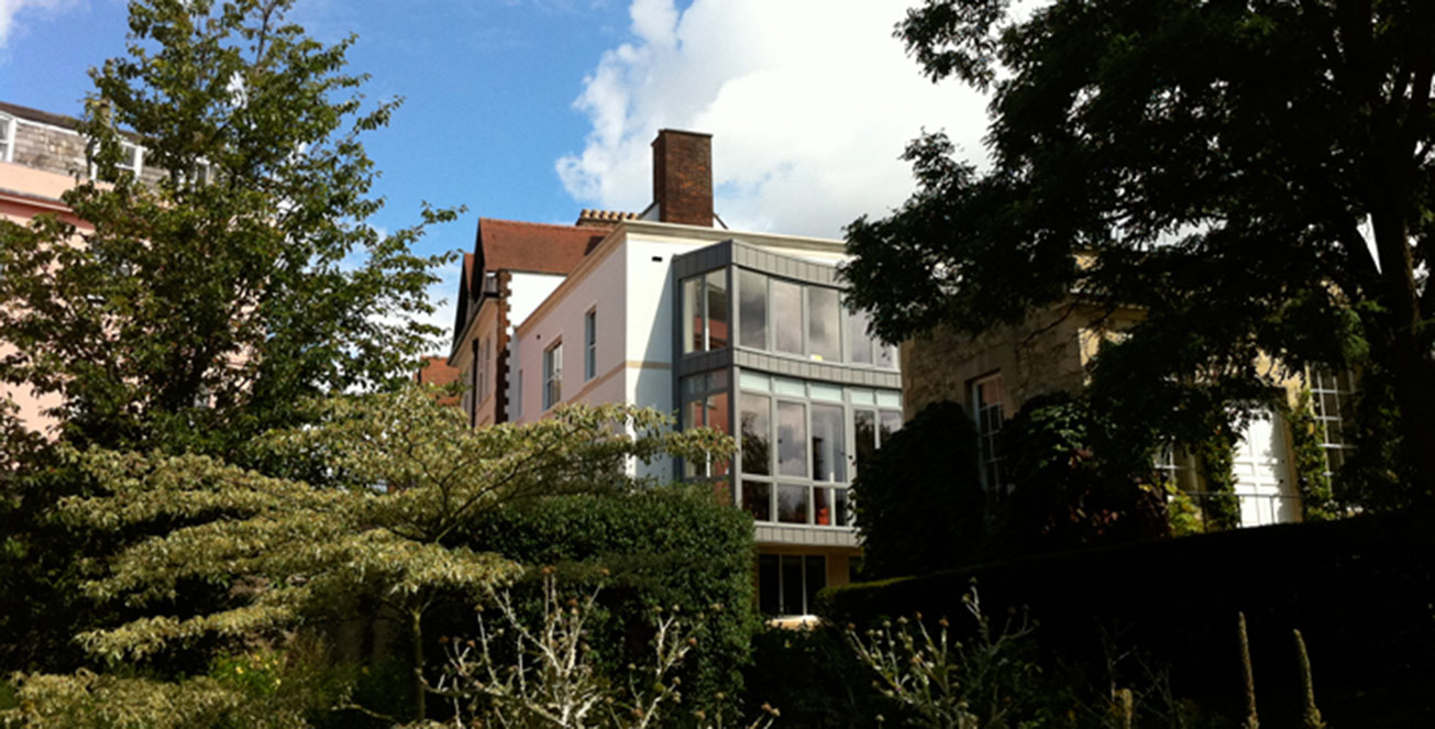 Merton College Oxford architects