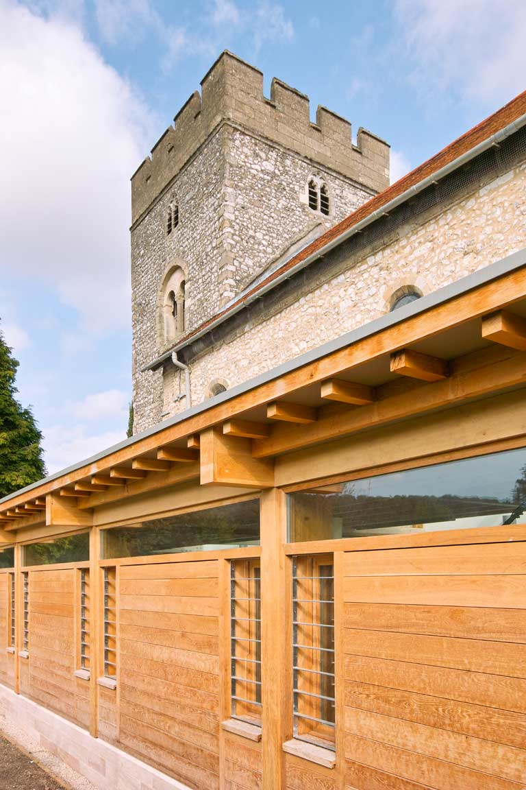 Church Extension Acanthus Clews Architects